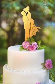 gold cake topper gold wedding cake topper wedding corners