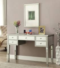 desk black dressing table with drawers and mirror 132 modern