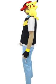 pokemon ash ketchum blue jacket cosplay