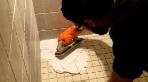 how to use shower epoxy grout by home repair tutor youtube