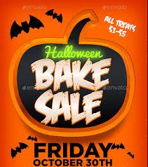 Halloween Invitation Templates Fpr Microsoft Word U2013 Fun For Halloween Bake Sale Flyer Template 34 Free Psd Indesign Ai Format
