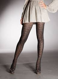 eye pattern tights cashmere tights 1582 by primavera international