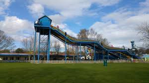 the really tall water slide picture of paultons park romsey