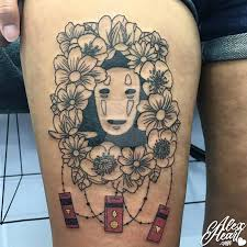 spirited away ghibli no face tattoo by alex heart by