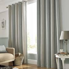 Grey Beige Curtains Wilde Downton Lined Eyelet Curtains Duck Egg Grey Beige