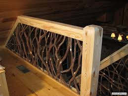 Wood Banisters And Railings Rustic Wood Railings Stair Railing And Balcony Handrail Rustic