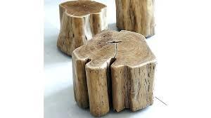 tree stump accent table natural tree stump side table best tree trunk table ideas on stump