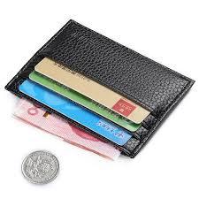slim business cards aliexpress buy fashion unisex mini slim business card holder