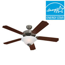 Quality Ceiling Fans With Lights Sea Gull Lighting Quality Max Plus 52 In White Indoor Ceiling Fan
