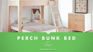 Oeuf Perch Bunk Bed Checkout The Perch Bunk Bed At Fawnandforest - Oeuf bunk bed