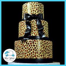 leopard print sweet 16 cake nj blue sheep bake shop