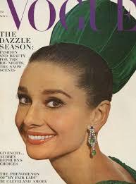 hepburn earrings wow hepburn s earrings on the cover of vogue 1964