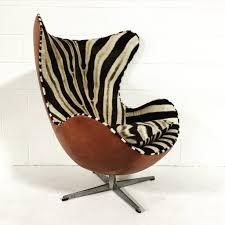 Reupholster Egg Chair Chair Love Zebra Arne Jacobsen Egg Chair The English Room
