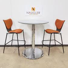36 round cafe table prismatique 36 round cafe table with 2 chairs t mt068 naugler