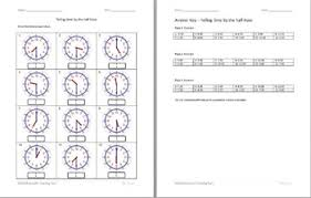 telling time half hour telling time half hour worksheets by stockwell s teaching tools tpt