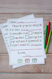 christmas thank you letters for kids eighteen25