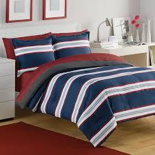 izod rugby stripe navy red comforter set westpointhome com