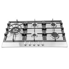 Map Gas Home Depot Cosmo 34 In Gas Cooktop In Stainless Steel With 5 Sealed Brass