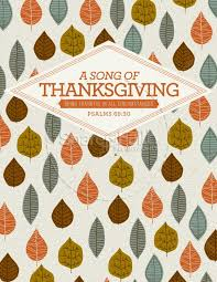 a song of thanksgiving christian flyer template flyer templates