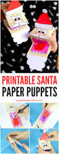 printable santa paper puppet easy peasy and fun