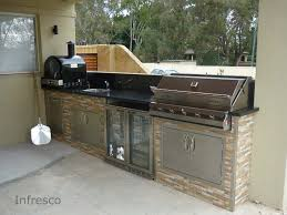 Infresco Manufactures Cabinets Suitable For Outdoor Kitchens We - Outdoor kitchen cabinets polymer