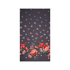 michael miller bed of roses cabbage rose border pearl discount
