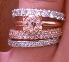Wedding Rings Rose Gold by Post Your Rose Gold Engagement Wedding Rings Weddingbee