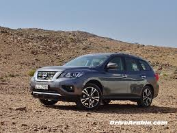 nissan pathfinder first drive 2018 nissan pathfinder in the uae drive arabia