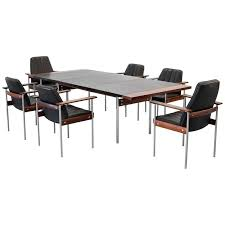 dining or conference group by sven ivar dysthe for dokka six