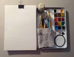 129 best urban sketching kit images on pinterest urban sketching