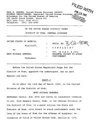 Arrest Warrant Vs Bench Warrant Bret Michael Edmunds Arrest Warrant The Smoking Gun