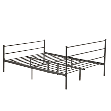 Bedroom Furniture Headboards by Twin Full Queen Size Metal Bed Frame Platform Headboards 6 Leg