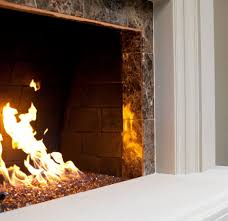 modern home interior design stacked stone fireplace to create