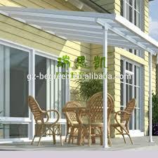 cutsomized waterproof balcony patio covers metal patio cover shade