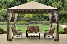 Replacement Pergola Canopy by Better Homes And Gardens Courts Landing Valance Gazebo 12 U0027 X 10