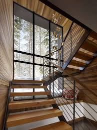 Stairs With Landing by Staircase Modern Constructions Types Design