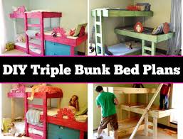 Plans For Triple Bunk Beds by Best 25 Bunk Bed Fort Ideas On Pinterest Fort Bed Loft Bed Diy