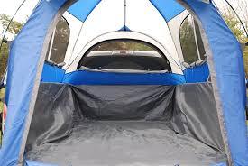 jeep tent inside amazon com sportz truck tent blue grey sports u0026 outdoors