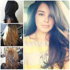 hairstyles elegant long choppy layered hairstyles with natural