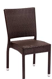 Fake Wicker Patio Furniture by Synthetic Wicker Restaurant Chairs Bar U0026 Restaurant Furniture