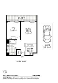 zenith floor plan 307 2 springfield avenue potts point nsw 2011 squiiz com au