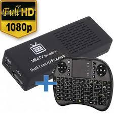 mini tv for android tv smart tv box android dual con teclado inalambrico