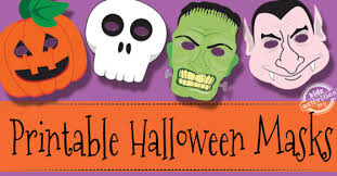 halloween masks free kids printable