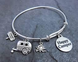 stainless steel bracelet charms images Charm bracelet etsy jpg