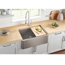 what is an apron front sink blanco ikon 30 apron front granite composite sink in silgranit