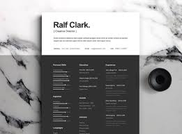 Best Free Resume Templates Best Free Resume Templates On Behance