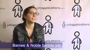 Barnes N Noble Application Barnes U0026 Noble Interview Barista Youtube