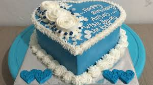 love blue cake decorating easy youtube