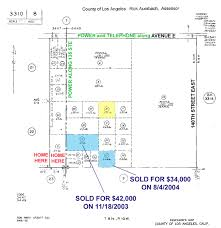 Los Angeles County Zoning Map by California Land For Sale In Lancaster Ca Los Angeles California