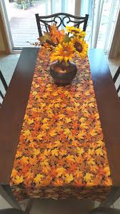 Fall Table Runners by Fall Table Runner Autumn Table Runner Harvest Table Runner
